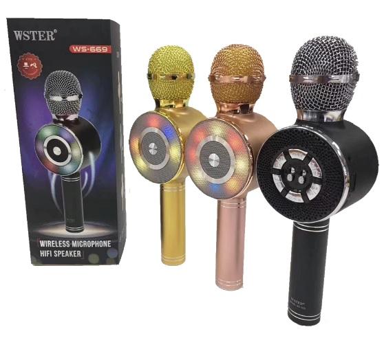Micrófono inalámbrico Bluetooth profesional WS-669