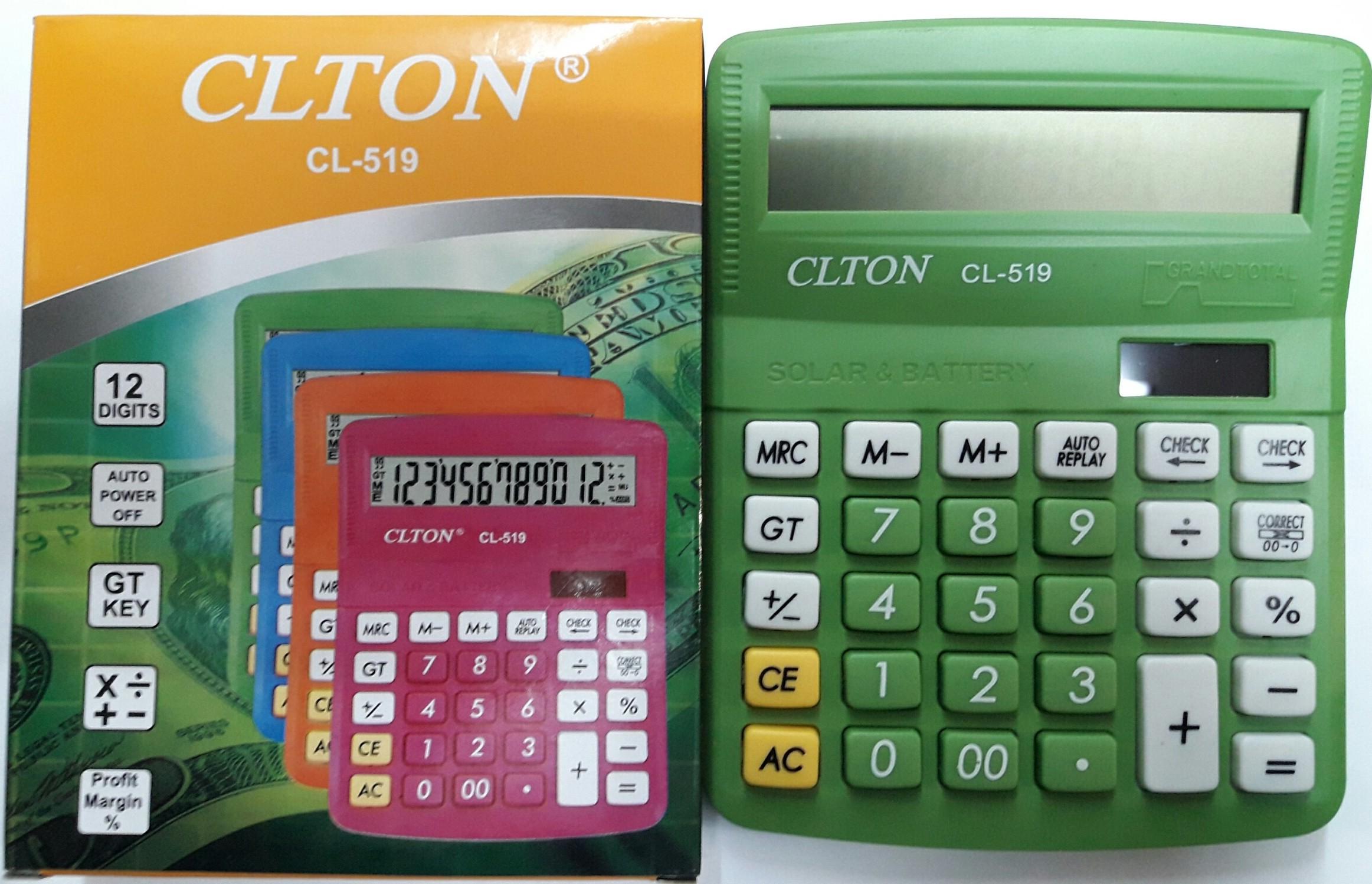 CALCULADORA CLTON CL-519
