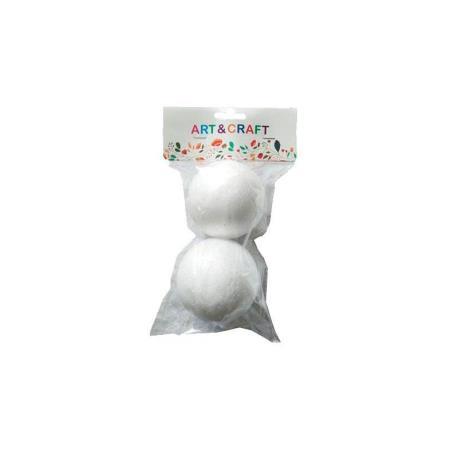 BOLA 3D POREX - CORCHO 7 CM 8 CM