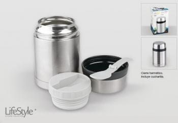 TERMO CAFE CON TAZA PLASTICO