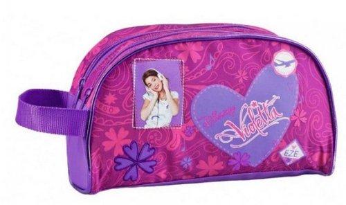 Neceser Violetta Disney corazon dos cremalleras