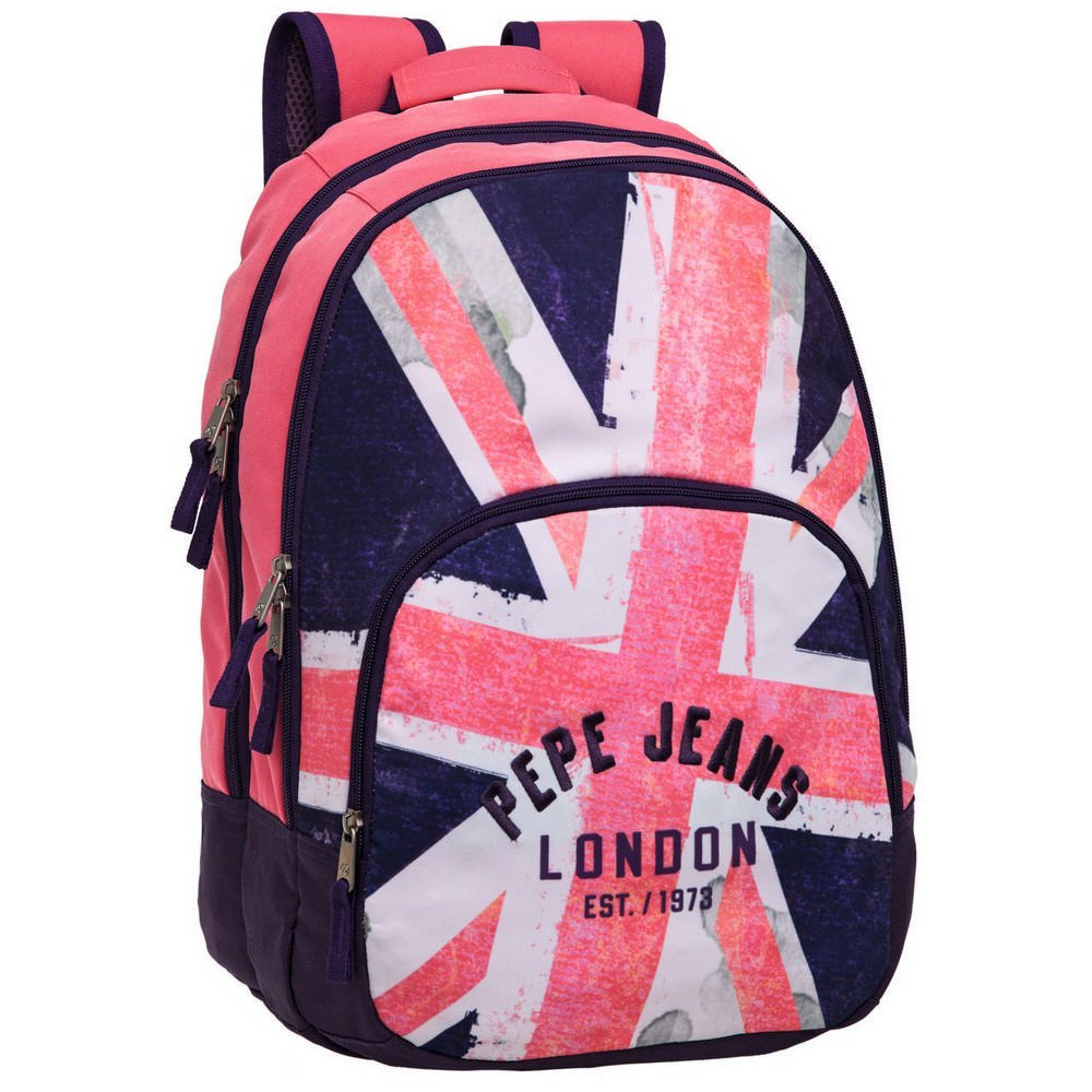 MOCHILA PEPE JEANS ADAPTABLE DISEÑO LONDON
