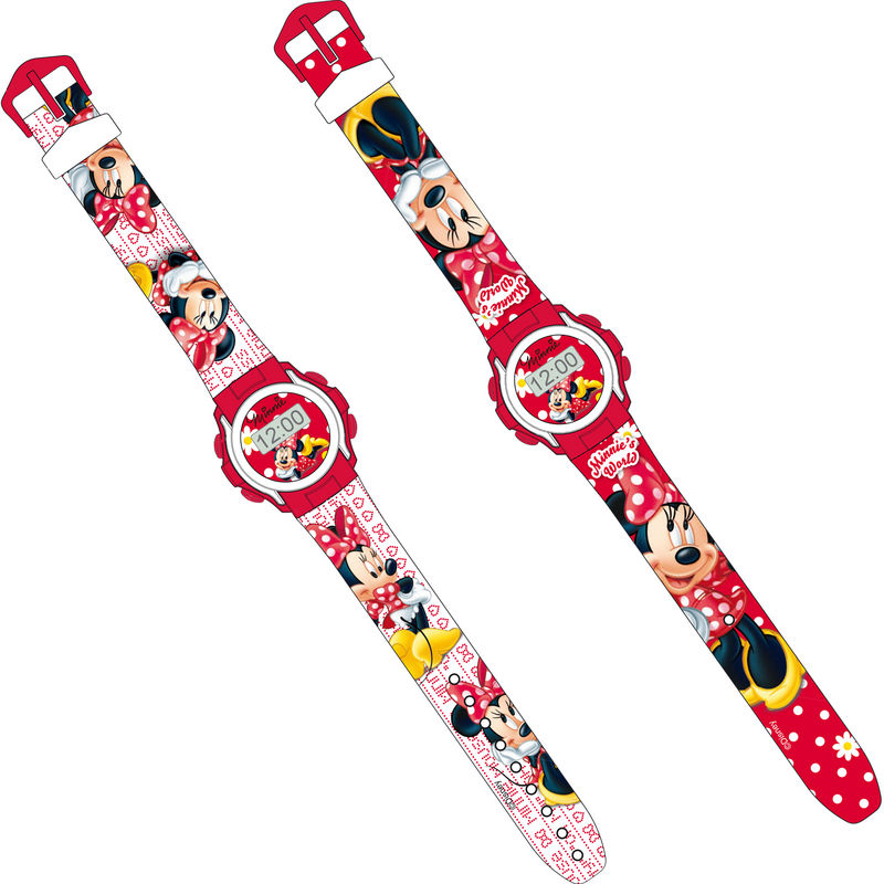 RELOJ DEPORTIVO DIGITAL MINNIE DISNEY