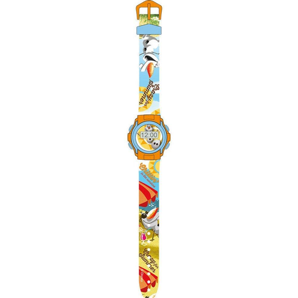 Reloj con pulsera digital en blíster, diseño de Olaf