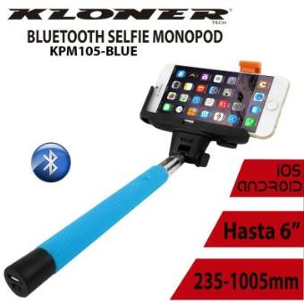 PALO SELFIE KL-TECH BLUETOOTH AZUL