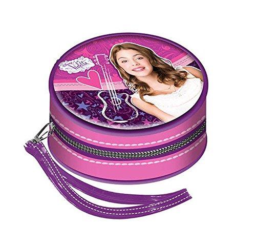 Violetta monedero redondo