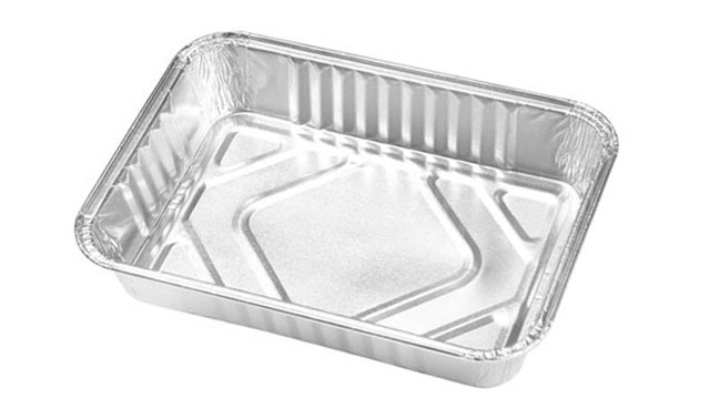 BANDEJA RECTANGULAR x4 ALUMINO 187x134x33mm