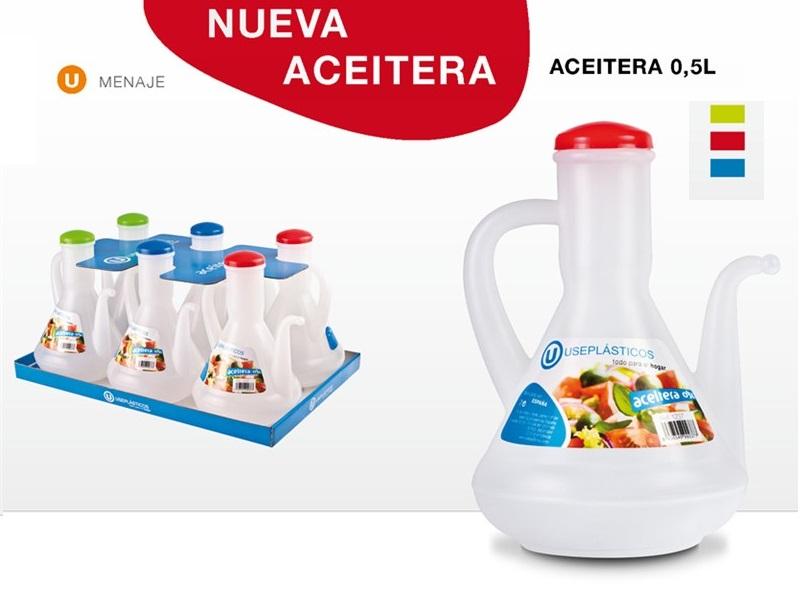 ACEITERA PLASTICO 500 ML