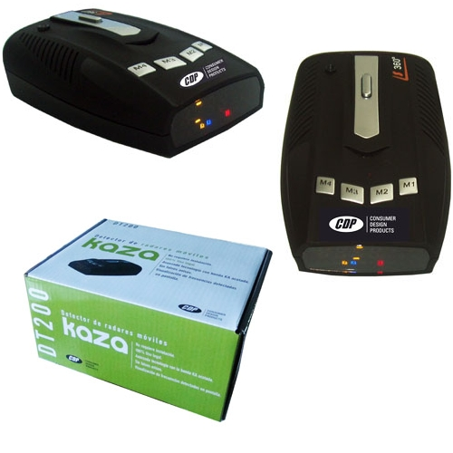 Kaza DT 200 Detector de radares