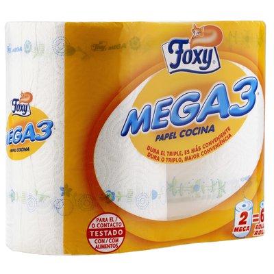 ROLLO COCINA FOXY MEGA3 - 2 UNIDADES