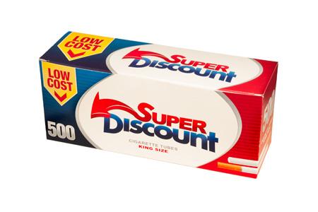 Tubos Discount 500 Filtro Largo