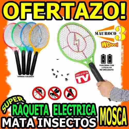 RAQUETA EXTERMINADORA DE INSECTOS