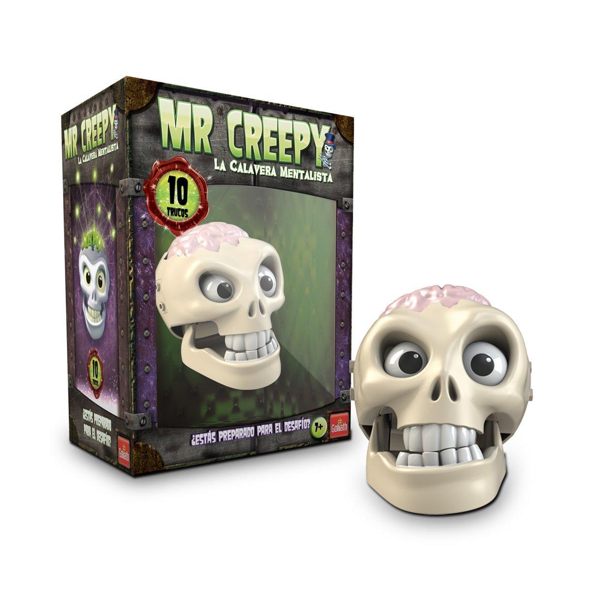Calavera Mentalista Mr Creepy, juego electrónico