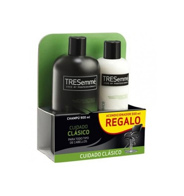 TRESEMME PACK CH 810+ACOND. CLASICO