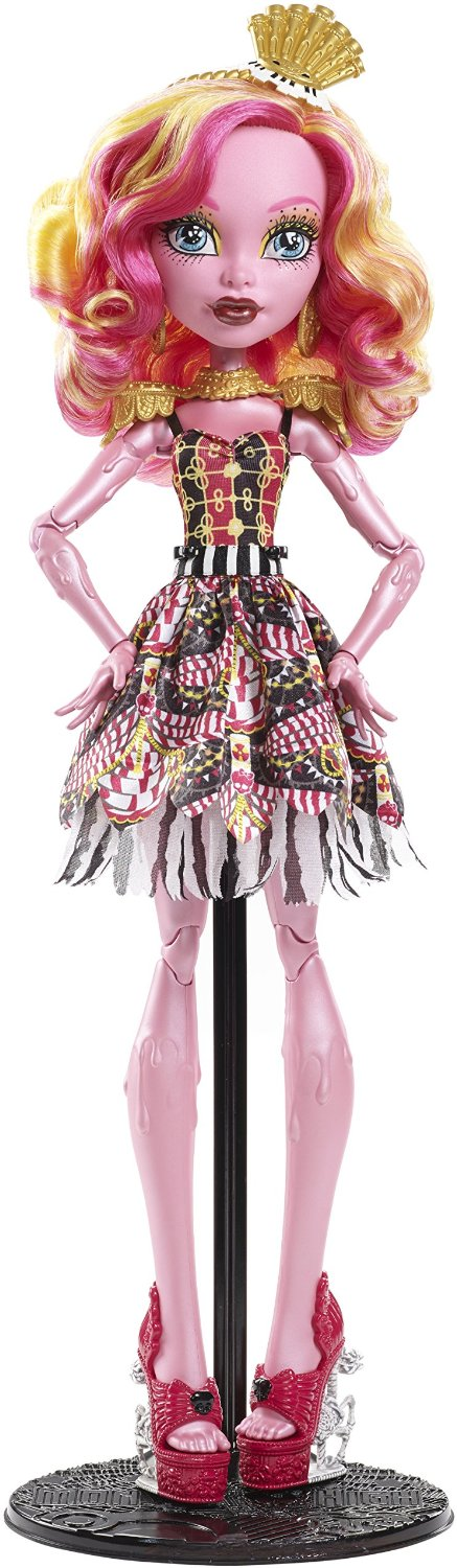 Mattel - Monster High Gooliope, muñeca gigante, 45 cm