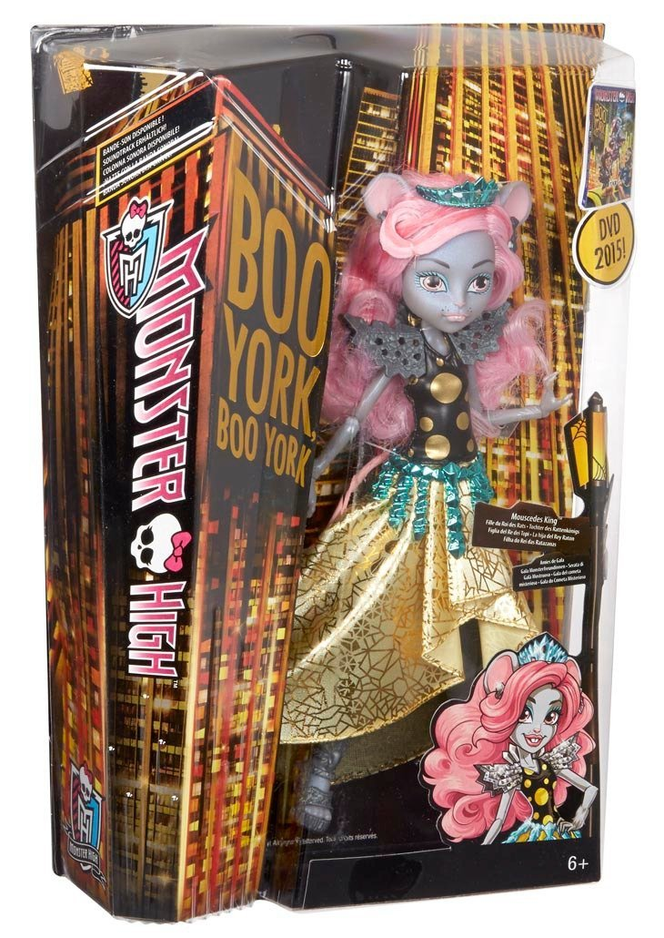 Monster High - Muñeca York Mouscedes King