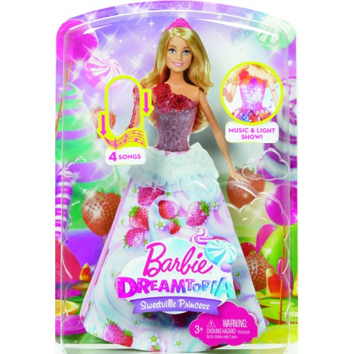 Barbie - Dreamtopia: Princesa Destellos Dulces