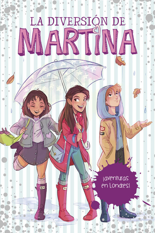 LIBRO AVENTURA EN LONDRES (LA DIVERSION DE MARTINA)