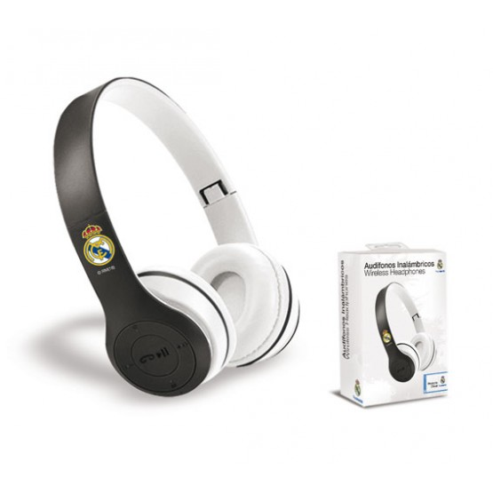 AURICULAR CASCO INALAMBRICO REAL MADRID