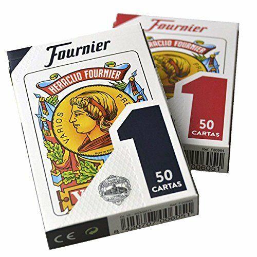 BARAJA 50 CARTAS ESPAÑOLA CON FUNDA