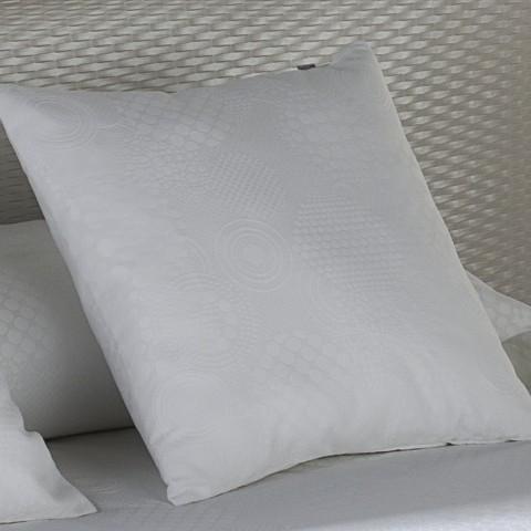 COJIN COMBI TEJIDO LLANES blanco optico Cojin 50x50cm