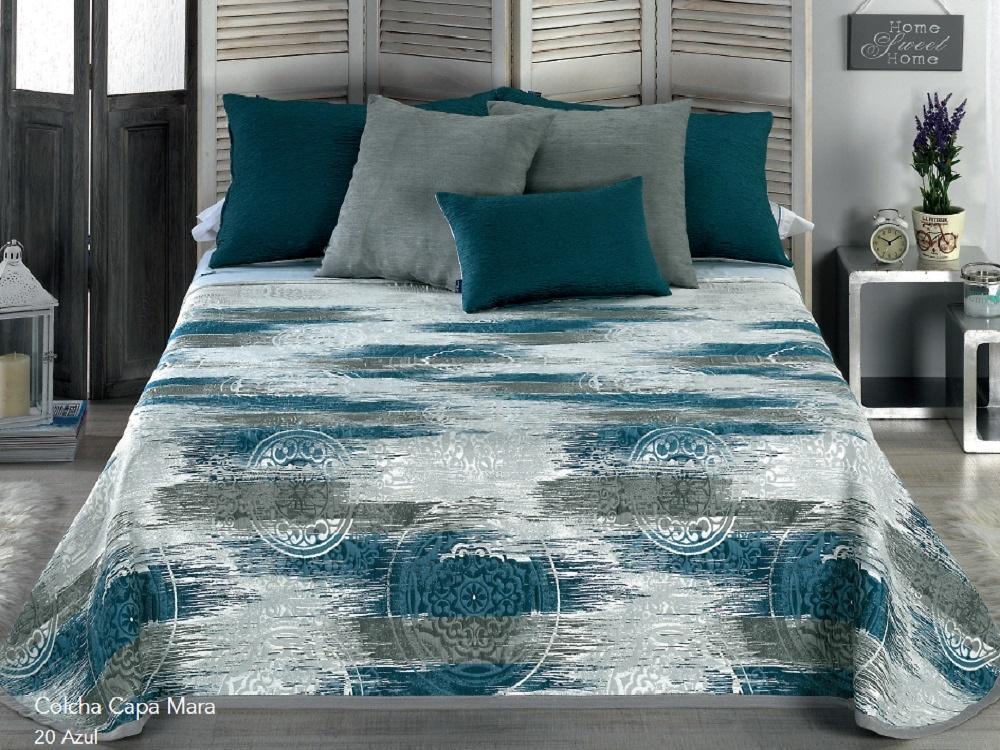COLCHA CAPA MARA 20 - azul 105 cms 20 - azul 120/135 cms 20 - azul 150 cms