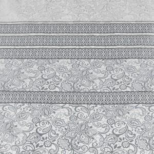 COLCHA BOUTI REVERSIBLE IVANNA 085 - PLATA 90 cms