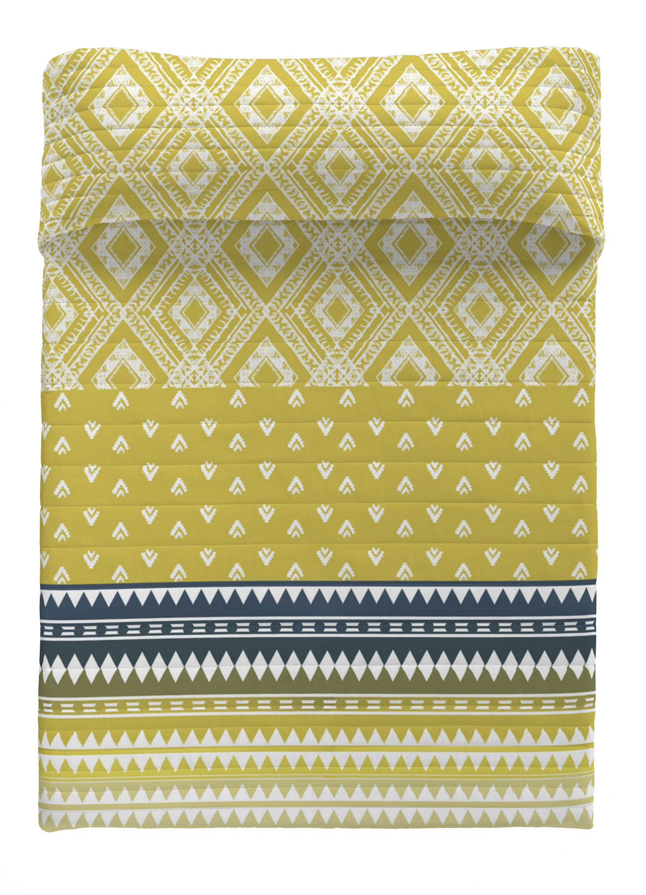 COLCHA BOUTI REVERSIBLE INDRA 90 cms