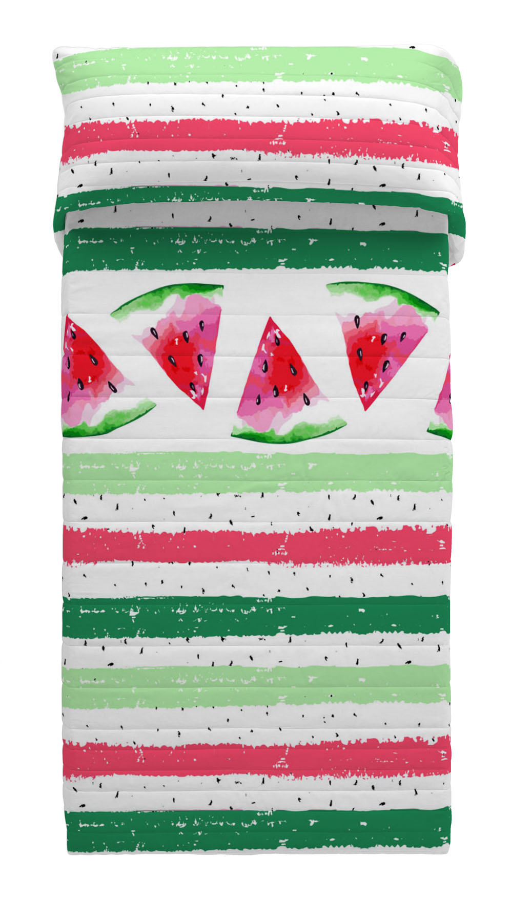 COLCHA BOUTI REVERSIBLE WATERMELON 90 cms