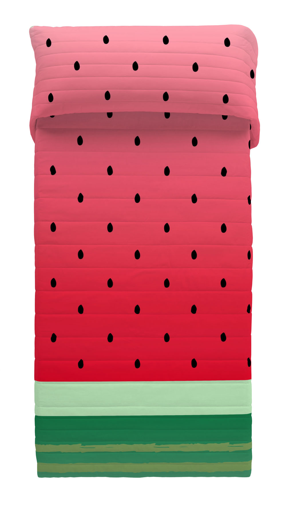COLCHA BOUTI REVERSIBLE WATERMELON 105 cms