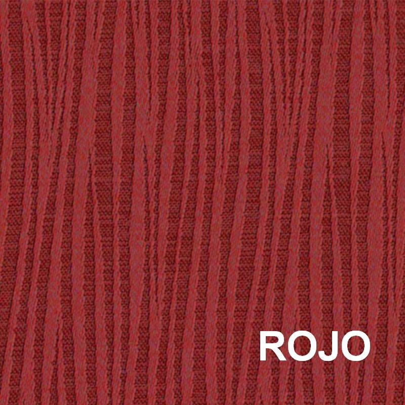 CORTINA DION rojo 140x260