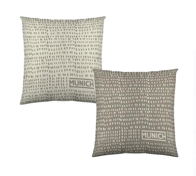 COJINES OSAKA GREY REVERSIBLE 50 x 50 cms con relleno 50 x 50 cms vacio