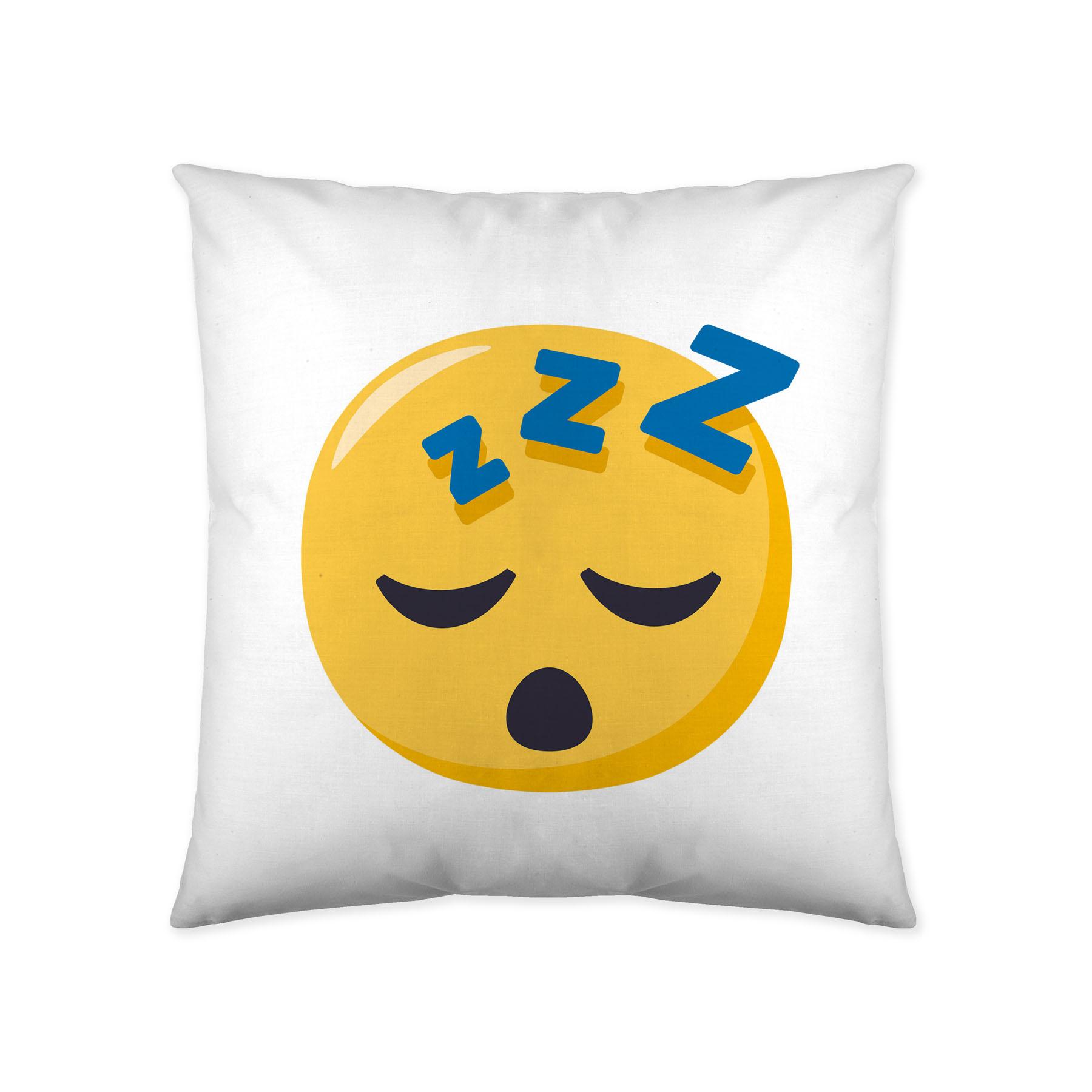COJIN REVERSIBLE 5 JOY PIXELS EmojiOne 40 x 40 cms con relleno