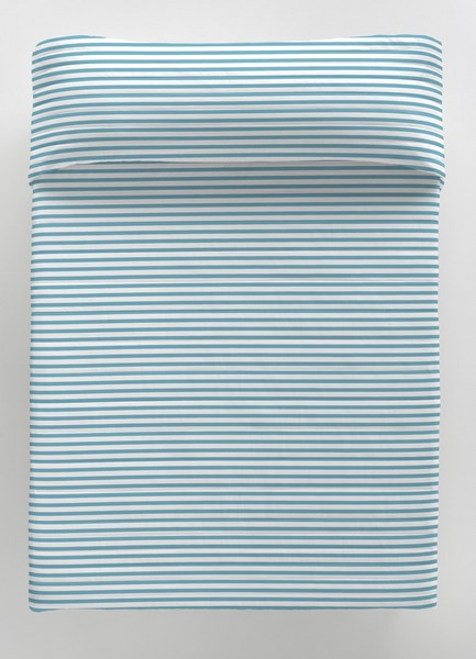 COLCHA BOUTI EVO BLUE REVERSIBLE 105 cms 90 cms