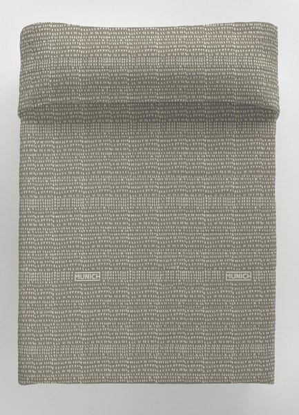 COLCHA BOUTI OSAKA GREY REVERSIBLE 150 cms 135 cms