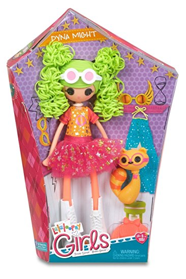 MUÑECA LALALOOPSY GIRLS DYNA MIGHT