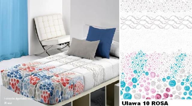 EDREDON AJUSTABLE ULAWA 10 ROSA 105 cms