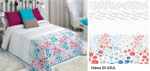 EDREDON ULAWA 20 AZUL 90 cms 20 AZUL 105 cms 20 AZUL 120/135 cms 20 AZUL 150 cms 20 AZUL 160 cms 20 AZUL 180 cms