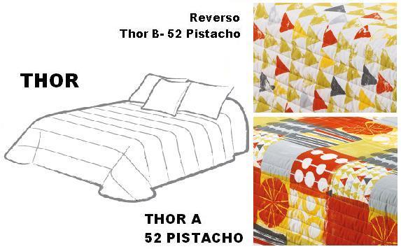 EDREDON REVERSIBLE THOR 52 PISTACHO 105 cms