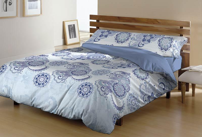 FUNDA NORDICA ROCIO azul 200 cms azul 180 cms azul 150 cms azul 135 cms azul 105 cms azul 90 cms