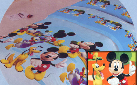 FUNDA NORDICA MICKEY PARK