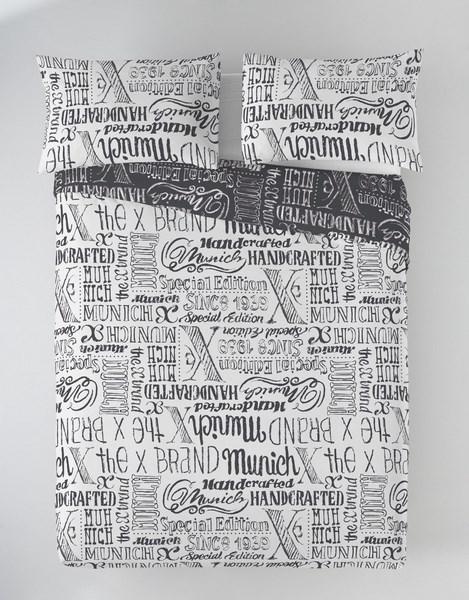 FUNDA NORDICA JET GREY REVERSIBLE 105 cms 90 cms