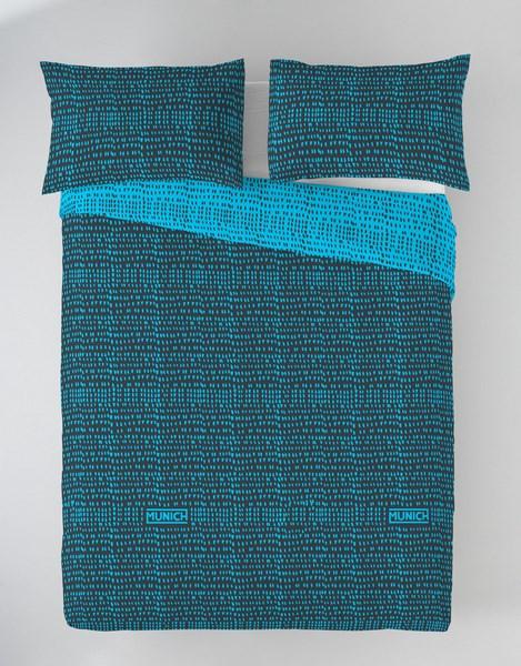 FUNDA NORDICA OSAKA BLUE REVERSIBLE 105 cms 90 cms