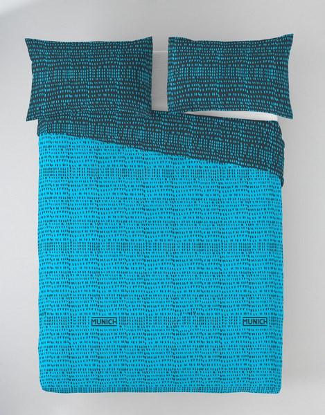 FUNDA NORDICA OSAKA BLUE REVERSIBLE 135 cms