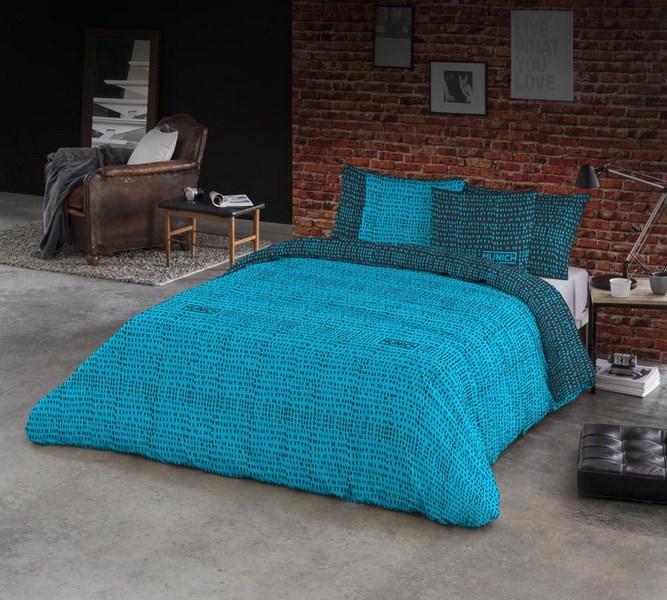 FUNDA NORDICA OSAKA BLUE REVERSIBLE 180 cms 150 cms