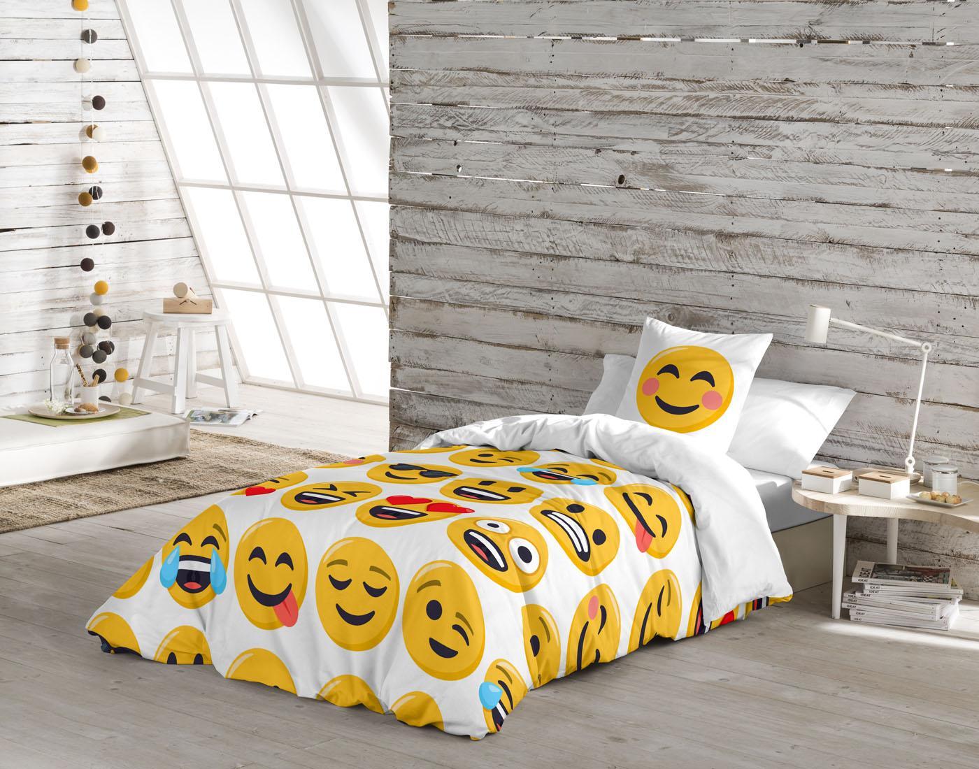 FUNDA NORDICA ILY  de JOY PIXELS EmojiOne