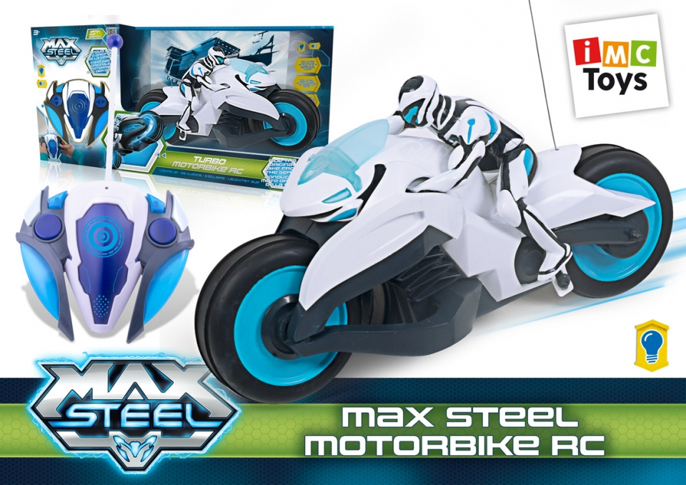 TURBO MOTORBIKE MAX STEEL R/C