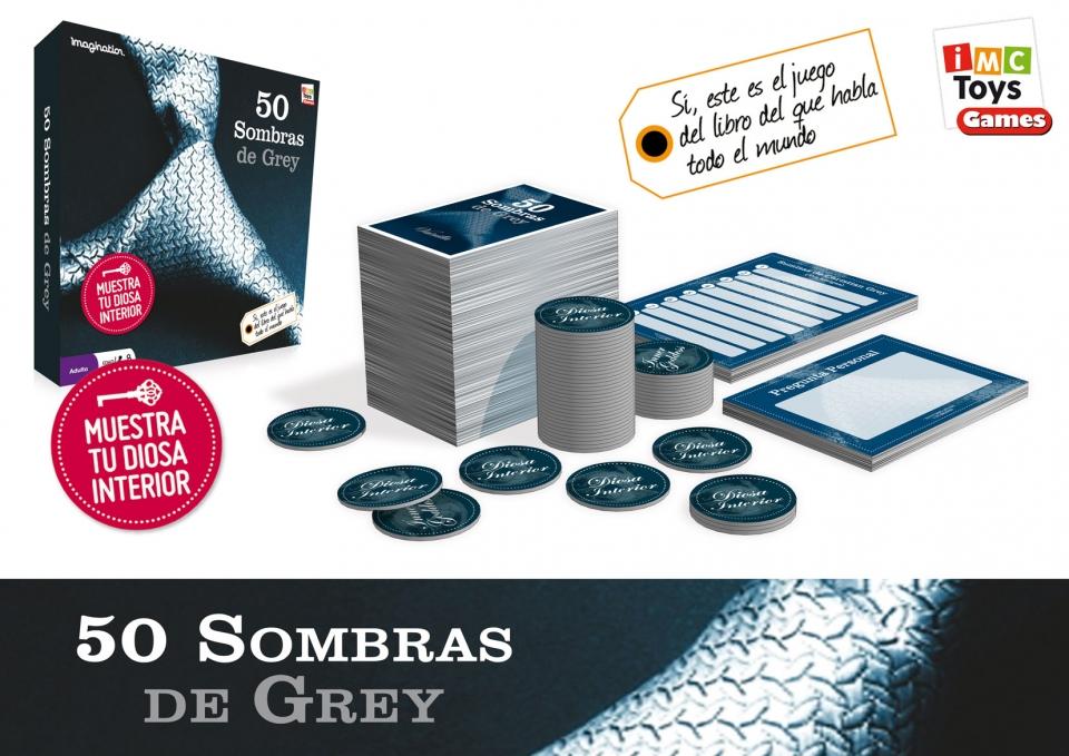 JUEGO DE MESA 50 SOMBRAS DE GREY¬