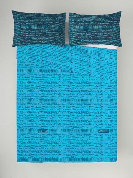 JUEGO SABANAS OSAKA BLUE REVERSIBLE 180 cms 150 cms 135 cms 105 cms 90 cms