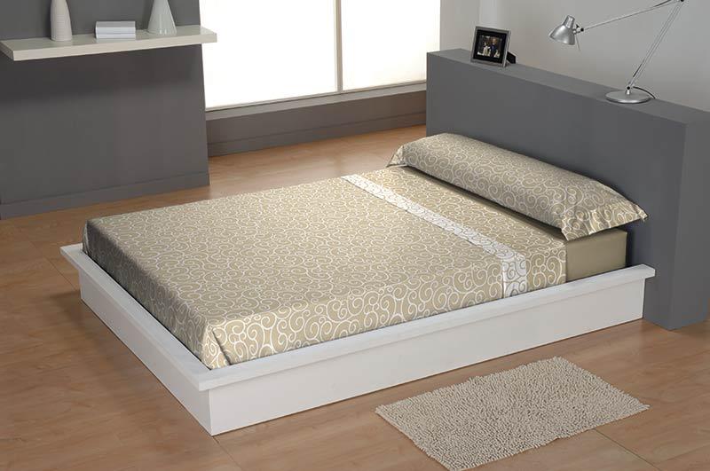 **OFERTA** SABANAS PIRINEO LAZOS 135CM beige 135 cms beige 105 cms
